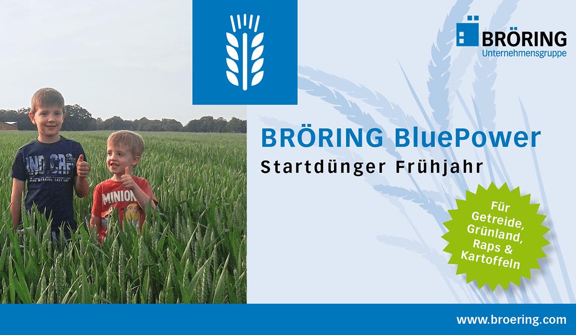 BRÖRING, Futtermittel, Agrar, Dünger, Blue Power