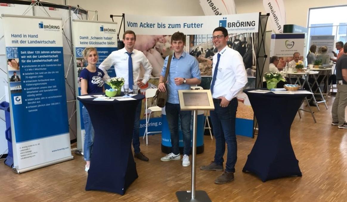 15. Kontaktmesse Agrar – Treffpunkt Zukunft 2020, Bröring